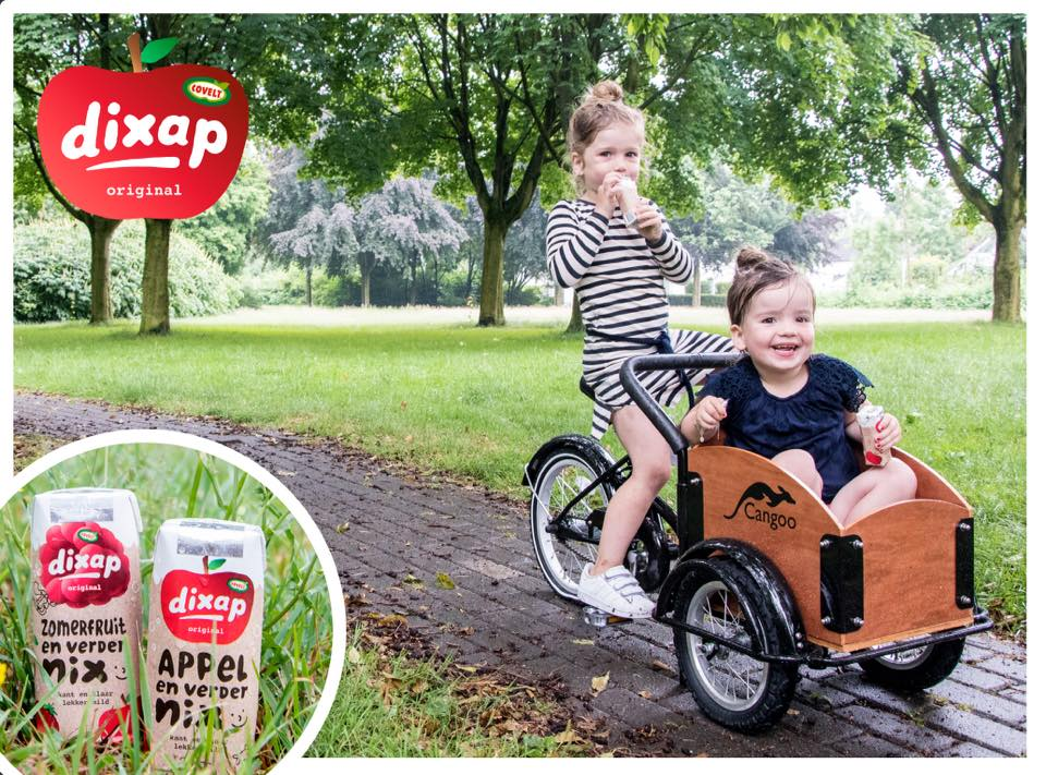 Win een mini bakfiets voor je kleine!